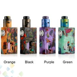 Wholesale Drip Tip Bottles - 100% Original Aleader Funky Squonk BF Kit Vape Box Mod Resin Edition with Bottom Feeding 7ml Bottle 810 Drip Tip DHL Free