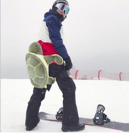 Wholesale Gear Protection - turtle Ladybug Skiing Skating Protective Gear Buttocks Pads for Adults Children Presaling Hip Padded Skiing Snowboard Protection KKA4174