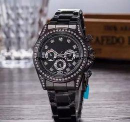 Wholesale Clock Geneva - Montre Geneva Watch Women Men Fashion Roman Numerals Dial Watches Women's Mens Luxury Brand Leather Quartz Wristwatch Clock Relogio Feminino