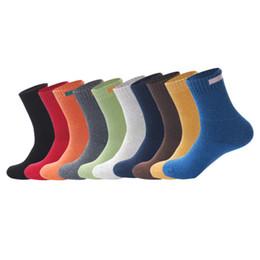 2019 tuch für den winter Solide Cloth Sign Design-Merino Wollsocken Neu Herbst Winter Herren Crew Socken Wolle Herren Socken Heiße verkauf günstig tuch für den winter