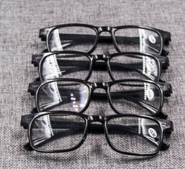 Wholesale Lighted Reading Glasses Wholesale - NEW ARRIVAL HIGH QUALITY READING GLASSES FOR THE AGED plastic presbyopic glasses portable and light free shipping