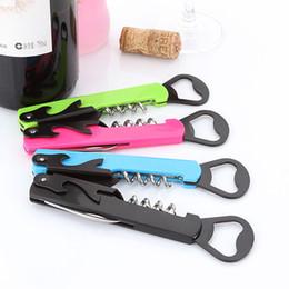 Конный нож онлайн-Пивная бутылка инструмент штопор красное вино открывалка для бутылок многофункциональный вина открывалка для бутылок sea horse нож открывалка DHL Бесплатная доставка