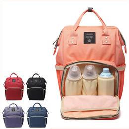 Wholesale brand maternity - Fashion Mummy Maternity Nappy Bag Brand Large Capacity Baby Bag Travel Backpack Designer Nursing for Baby Care