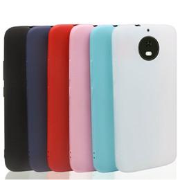 Cajas de teléfono moto g3 online-Candy TPU Fundas de silicona para celulares Motorola Moto G5S Plus E4 G3 Funda Para Moto Z2 E5 PLay G5 E5 Plus C Plus Caja de venta