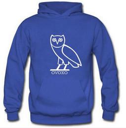 Suéteres de invierno búho online-Otoño e invierno con suéter de terciopelo. Búho. Ropa deportiva para hombres. Amantes de los estudiantes. Ocio. Moda. Moda.