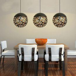 2019 luzes de tira led comercial Modern luminária pingente de metal luz globle lâmpada com suporte e27, estilo cortado, novo estilo de sala de estar, frete grátis