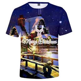 2018 Nueva Venta Caliente Feliz Navidad 3D Impreso Verano Casual Kawaii  Manga Corta Camisetas Hombres Mujeres Moda Streetwear Camiseta Top barato  navidad ... dd0a7b011ab01
