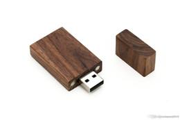 одиночные палочки Скидка Фантастическая оптовая цена новое прибытие 8GB USB 2.0 деревянный Ореховый диск - один пункт - Grove Stick Design U04