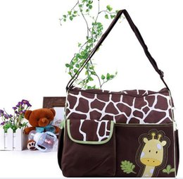 New large Capacity Mummy Mags Hot Sale Cartoon Pattern Multi Function Baby Diaper Bags Tote Organizer Nappy Mummy bag #86 от