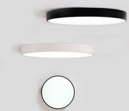 Argentina LED Luces de Techo Luminaria Lámpara de Techo Redonda Sencilla Decoración Accesorios Estudio Comedor Hogar Iluminación Dormitorio Alto 5 cm Suministro