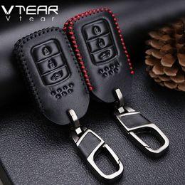 Wholesale honda crv car cover - For Honda CRV fit XRV VEZEL Accord City Civic Jazz Key Case key chain ring cover interior car-styling decoration accessory