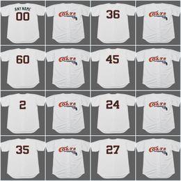 Houston Colt .45 s 2 NELLIE FOX 1964 10 RUSTY STAUB 24 JIMMY WYNN 27 JOSE  ALTUVE 35 JOE MORGAN Vintage Baseball Jerseys nellie fox jersey on sale f2fab11ae