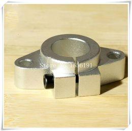 montagem em trilho de alumínio Desconto 1 PCS SHF-50 Suporte de mancais, suportes de eixo horizontal SHF50, diâmetro interno 50mm montagem de trilho de assento de eixo de alumínio de eixo óptico linear