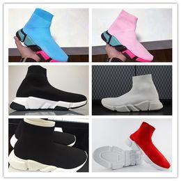 Wholesale Toe Sports Socks - 2018 Luxury Sock Shoe Speed Trainer Running Shoes Sneakers Speed Trainer Sock Race Runners black Shoes men and women Sport Shoes