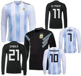 camiseta de fútbol argentina Rebajas DYBALA 2018 Copa del mundo MESSI Argentina  camiseta de fútbol local 0e4709cb5eff7