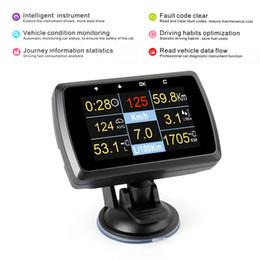 Сигнальная сигнализация онлайн-Автомобиля OBD смарт-датчик OBD2 Авто сканер воды Tempmeter скорость метр колеи дисплей вождения компьютер над скоростью сигнализации сканирующий инструмент