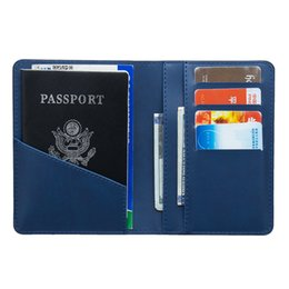 Card & Id Holders Russian Fashion Color Mixing Double-headed Eagle Pu Leather Passport Holder Built In Rfid Blocking Protect Personal Information Back To Search Resultsluggage & Bags