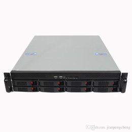 Wholesale Internet Server - 2U550mm8 disk hot-swappable server computer case Rack type Internet cafes store short server chassis
