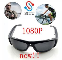 All'ingrosso-2017 SITU più recenti HD 1080P Occhiali da sole fotocamera auto guida Sport all'aria aperta Occhiali da sole intelligenti con fotocamera Mini DV supplier cmos glasses da occhiali cmos fornitori