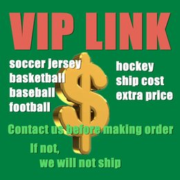 2019 preço vip Link VIP para camisas de futebol da faculdade de basquete futebol de beisebol hóquei camisola preço diferença custo do navio etc preço vip barato