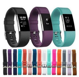 Wholesale rates lower - Lowest price For Fitbit Charge2 Alta HR Heart Rate Smart Wristband Bracelet Wearable Belt Strap For Fitbit Charge 2 Silicon silicone Band