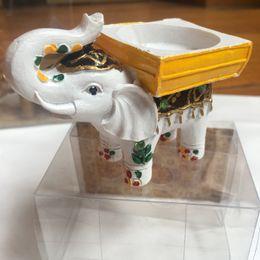 Canada Lucky Elephant bougie photophore Titulaire de mariage retour cadeaux Faveurs Anniversaire Souvenirs Anniversaire Giveaways 100 pcslot Livraison gratuite Offre
