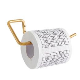 Canada Vente Promotion Sudoku Rouleau De Papier Toilette Drôle Jeu Tuer Temps Nouveauté Cadeau Livraison Gratuite SN213 Offre