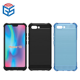 Wholesale Mobile Phone Cases Wholesale China - For Huawei Honor 9 Glory 9 Honor 10 STF-AL00 STF-AL10 Case Mobile Phones Prices In China Shockproof TPU Back Cover