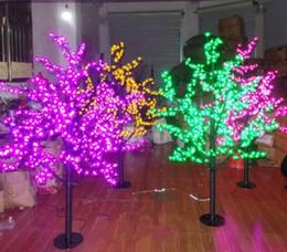 fiore m Sconti LED Christmas Light Cherry Blossom Tree 480 / 576pcs Lampadine a LED 1.5m / 5ft Altezza Uso Interno o Esterno Spedizione Gratuita Trasporto di Goccia