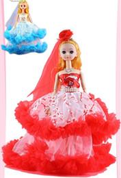 Principessa della catena chiave del regalo del giocattolo del bambino della principessa della ragazza della bambola creativa di 35cm da moda jeans bambino fornitori