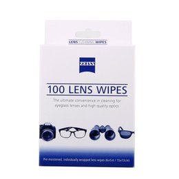 Wholesale Optic Camera - optics carl zeiss micro fiber cloth camera cleaning kit 100 counts