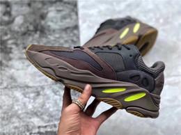 d3a54e8199906 2018 Authentic Kanye West 700 Mauve EE9614 WAVE RUNNER Running Shoes Men  Women With Original Box Real Basf Bottom Desert Rat Brand Design. Supplier   mics