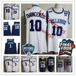 Mens NCAA Villanova Wildcats Donte DiVincenzo 2018 Championship Jersey  Mikal Bridges Jalen Brunson Villanova Wildcats Basketball Jerseys 938982ef0