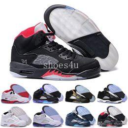Wholesale Michael Pu - retro 5 raging bull women Oreo space jam metallic V men basketball shoes sneakers 2017 outdoor sports shoes sizes 8.0-13 Michael Sports