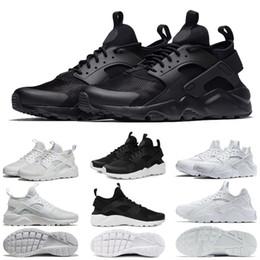 outlet store 186a4 fcd35 luft huarache laufschuhe Rabatt air Huarache Running Shoes 1.0 4.0 Herren  Damen Triple Weiß Schwarz Rot
