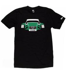 Camiseta CUSTOM HTees - CATERHAM 7 LOTUS SEVEN, elija la placa de color del coche, S-XXXL desde fabricantes