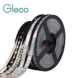 Wholesale ws2812b led strip - WS2812 IC LED Strip 5050 RGB 30 60 144 pixels dream color smart LED pixel strip WS2812B Black White PCB,IP30 IP65 IP67 DC5V