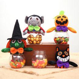 Süßigkeiten ball bevorzugung boxen online-Halloween Kreative Pralinenschachtel Kindergarten Kinder Cooky Jar Party Favor Geschenkboxen Phantasie Ball Party Dekoration Freies Schiff