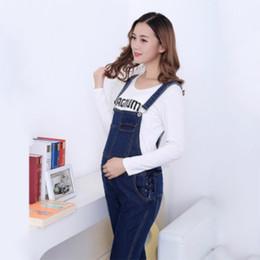 90d07a8bc996 jumpsuits for woman denim Australia - Maternity Suspender Trousers for  Pregnant Women Obstetrics Denim jumpsuit Jeans