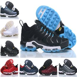 Wholesale Pa Lights - Hot Sale 2018 Men Original PLUS TN Air Running Shoes Discount TOP Quality Basket Ultra Tn Requin Pas Cher Chaussures EUR 40-46 Free Shipping