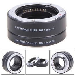 Wholesale Fuji X Pro1 - High Quality 10mm 16mm Lens Adapter Auto Focus Macro Tube for Fuji FX Camera X-Pro1 X-E1 X-E2 X-M1 X-A1 X-E2 X-M1 X-E1 X-Pro1