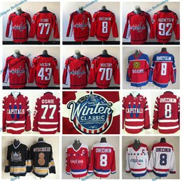 Wholesale Anti Green - 2015 Winter Classic Washington Capitals 8 Alex Ovechkin 77 TJ Oshie 92 Evgeny Kuznetsov Nicklas Backstrom Holtby Tom Wilson Hockey Jerseys