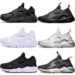 1eba0dfe3ea88 Air huarache 4 IV Men Women Running shoes Ultra Triple Black White Red Oreo  Huaraches Sport Sneaker Size 5.5-11 Discount Online Sale on sale