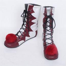 botas de naruto Rebajas Zapatos de la nueva película de Stephen King traje de Cosplay Se Pennywise Hombre Mujer Botas payaso personalizado de Halloween Accesorios de Navidad