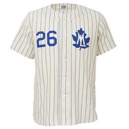 Personalizzabile. Toronto Maple Leafs 1960 Home Jersey Double Stiched Nome Numero Logos Baseball Jersey per uomo donna gioventù personalizzabile da