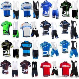 équipe cycliste saxo bank Promotion ORBEA 2018 Hommes maillot de cyclisme maillot ciclismo vélo manches courtes chemise Ropa ciclismo VTT vélo dossards Set C3101