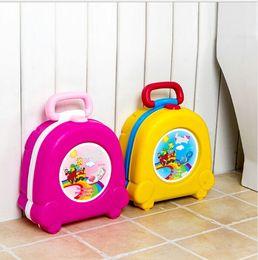 bambino bella toilette baby baby cassetto vasino toilette piccoli neonati e bambini piccoli Orinatoio portatile portatile da kit di stoccaggio trucco fornitori
