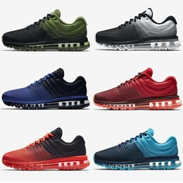Wholesale Max Silver - 2018 Maxes Running Shoes Mens 2017 New Ourdoor Athletic Sporting Walking Sneakers Boost for Women Men Run Fashion Casual Shoes Size 40-46
