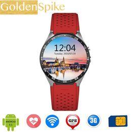 nuovi orologi intelligenti wifi Sconti 2019 New sports smart watch uomo MTK6580 1.39GHz Android 5.1 pedometro cuore rating 3G wifi 400 * 400 pixel 4 GB + 512 MB Smart watch