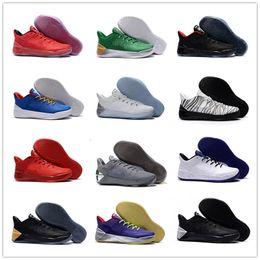 cheaper 69095 dfdf3 2018 Billig Verkauf Offizielle kobe 12 AD XII Derozan Schwarz Rot Lila  Basketball-Schuhe für Hohe Qualität Herren KB 12s EP Sport Sneakers Größe  40-46 ...